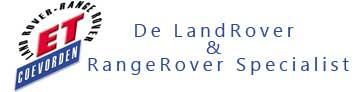ET Coevorden de LandRover en RangeRover Specialist